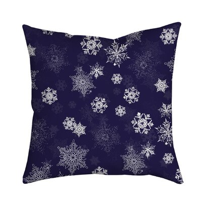 Holiday Treasures Throw Pillow Color: Purple