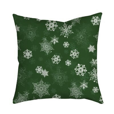 Holiday Treasures Throw Pillow Color: Green