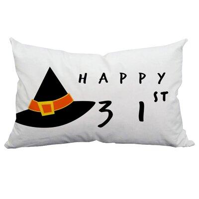 Holiday Treasures Happy 31st Halloween Indoor/Outdoor Lumbar Pillow