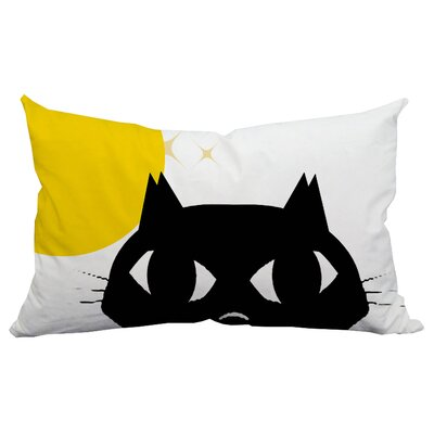 Holiday Treasures Shy Cat Indoor/Outdoor Lumbar Pillow