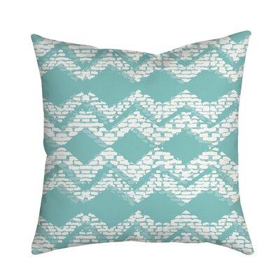 Beach Vibrations Geometric Throw Pillow Size: 20 H x 20 W x 2 D, Color: Blue