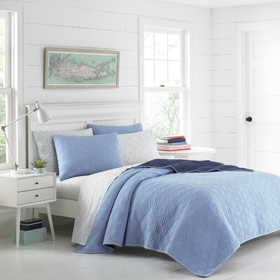 Bromberg Reversible Quilt Set Size: King