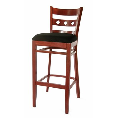 Ewell 30 Bar Stool Finish: Mahogany