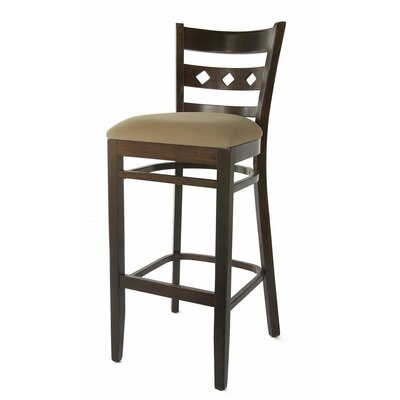 Ewell 30 Bar Stool Finish: Walnut