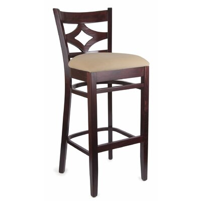 Fralick 30 Bar Stool Finish: Dark Mahogany