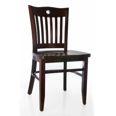 Poker Solid Wood Dining Chair (Set of 2)