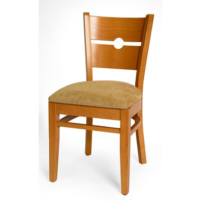 Coinback Upholstered Dining Chair (Set of 2) Color: Natural
