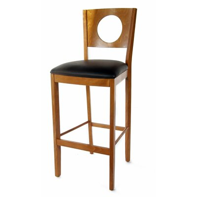 Carol 30 Bar Stool Finish: Cherry