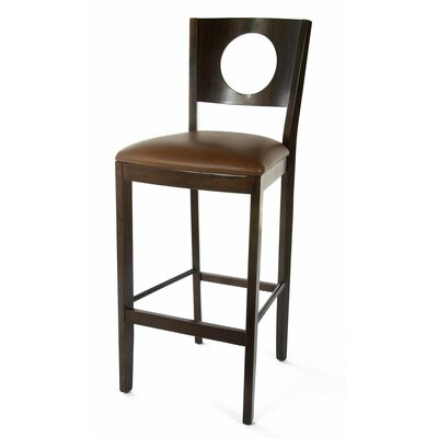 Carol 30 Bar Stool Finish: Walnut