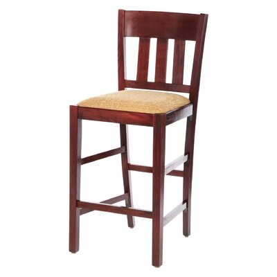 Skillman 24 Bar Stool Finish: Dark Mahogany