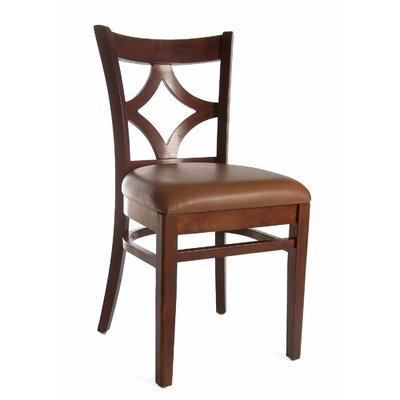 Rego Side Chair (Set of 2) Finish: Medium Oak / Brown