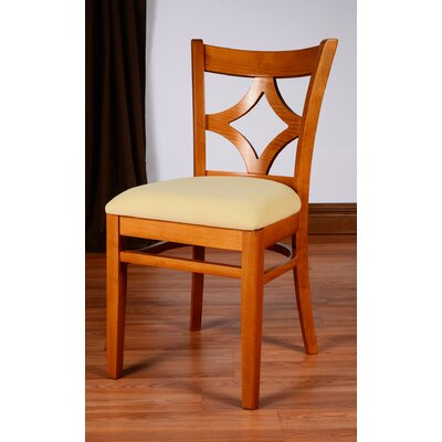 Rego Side Chair (Set of 2) Finish: Cherry