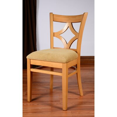Rego Side Chair (Set of 2) Finish: Natural
