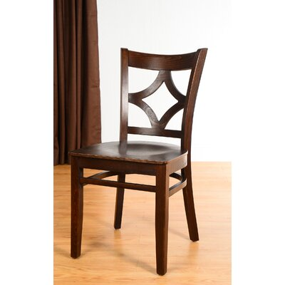 Rego Side Chair (Set of 2) Finish: Walnut