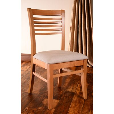 Venetion Side Chair (Set of 2) Finish: Natural