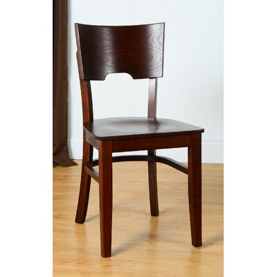 Cairo Side Chair (Set of 2) Finish: Medium Oak
