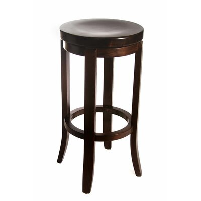 Arias 30 Swivel Bar Stool Finish: Walnut