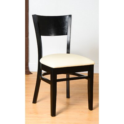 Rachel Side Chair (Set of 2) Finish: Black