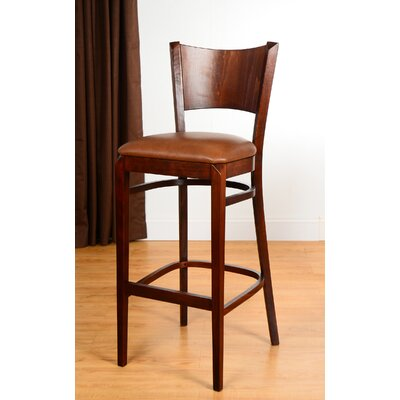 Triangle 30 Bar Stool Finish: Medium Oak