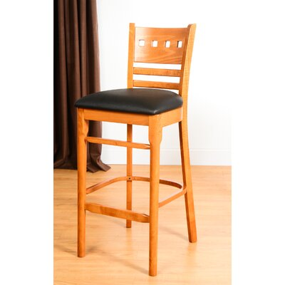 Domsey 30 Bar Stool Finish: Cherry
