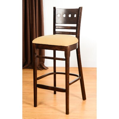 Domsey 30 Bar Stool Finish: Walnut