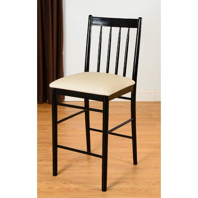 Lea 30 Bar Stool Finish: Black