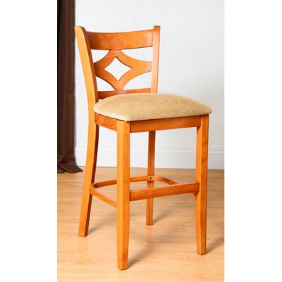 Fralick 24 Bar Stool Finish: Cherry