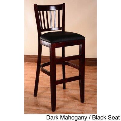 30 Bar Stool Finish: Dark Mahogany