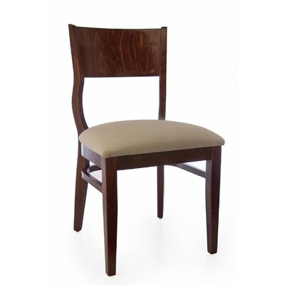 Roma Side Chair (Set of 2) Finish: Walnut