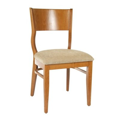 Roma Side Chair (Set of 2) Finish: Cherry