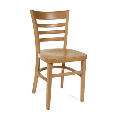 Furniture-Ladderback Side Chair (Set of 2) Finish Natural