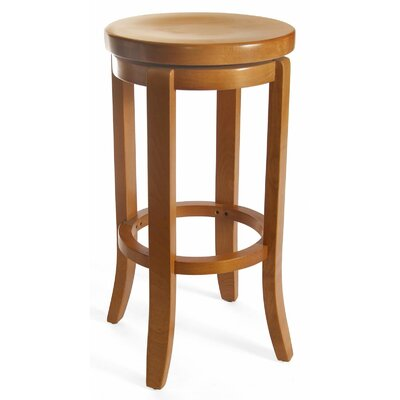 Arias 30 Swivel Bar Stool Finish: Cherry