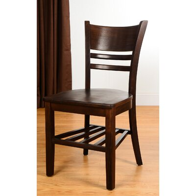Collage Solid Wood Dining Chair (Set of 2)