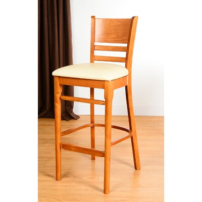 Bedford 30 Bar Stool Finish: Cherry