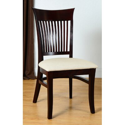 Vermont Side Chair (Set of 2) Finish: Gunstock Mahogany
