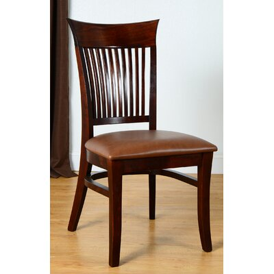 Vermont Side Chair (Set of 2) Finish: Medium Oak