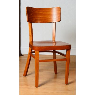 Monticello Solid Wood Dining Chair (Set of 2) Finish: Cherry