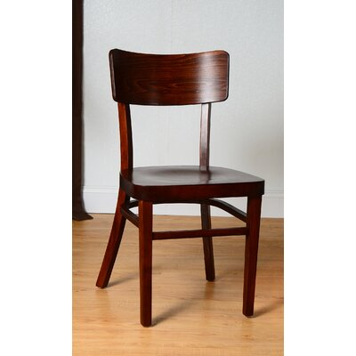 Monticello Solid Wood Dining Chair Finish: Medium Oak