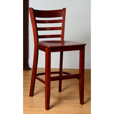 24 Bar Stool Finish: Mahogany