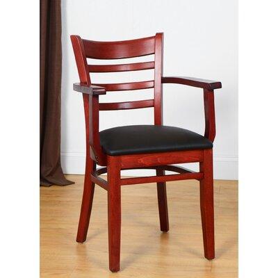 Arm Chair Finish: Mahogany