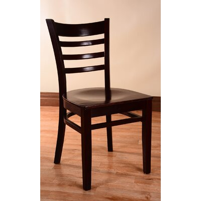 Side Chair (Set of 2) Finish: Dark Mahognay