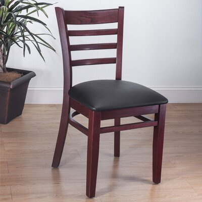 Side Chair (Set of 2) Finish: Mahogany