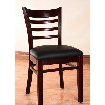 Side Chair (Set of 2) Finish: Dark Mahogany