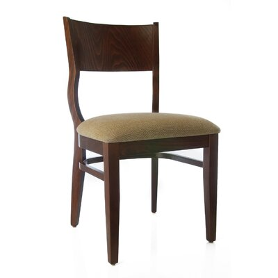Roma Side Chair (Set of 2) Finish: Medium Oak