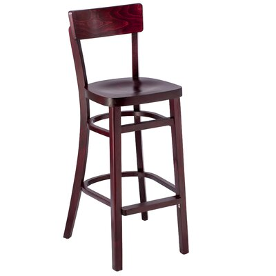 30 Bar Stool Finish: Mahogany