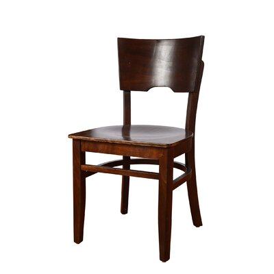 Cairo Side Chair (Set of 2) Finish: Walnut