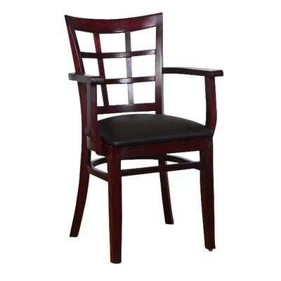 Arm Chair Finish: Dark Mahogany