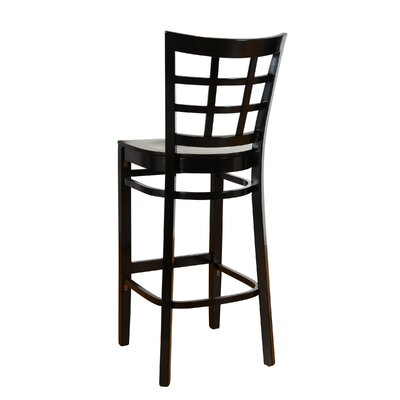 30 Bar Stool Finish: Black