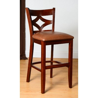 Fralick 24 Bar Stool Finish: Medium Oak