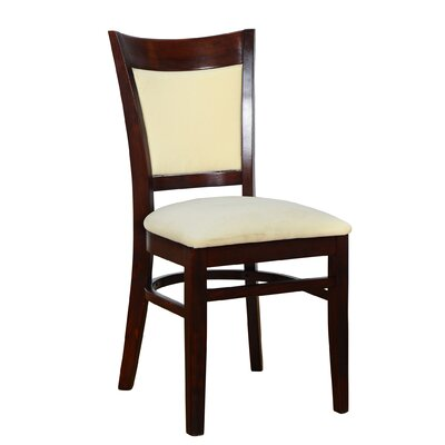 Sofia Side Chair (Set of 2) Finish: Dark Mahogany